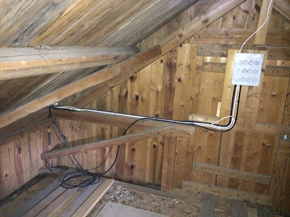 Isolera garage utan luftspalt