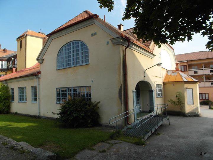 Gamla folkets hus i Askersund (Jägaren 2) Byggnadsvårdsföreningen