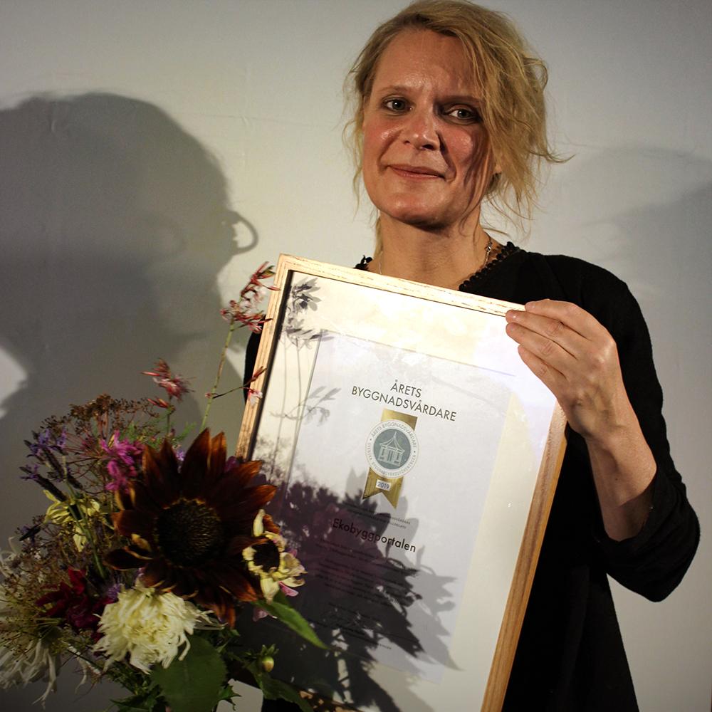 Årets byggnadsvårdare 2019 i kategorin Utveckla.