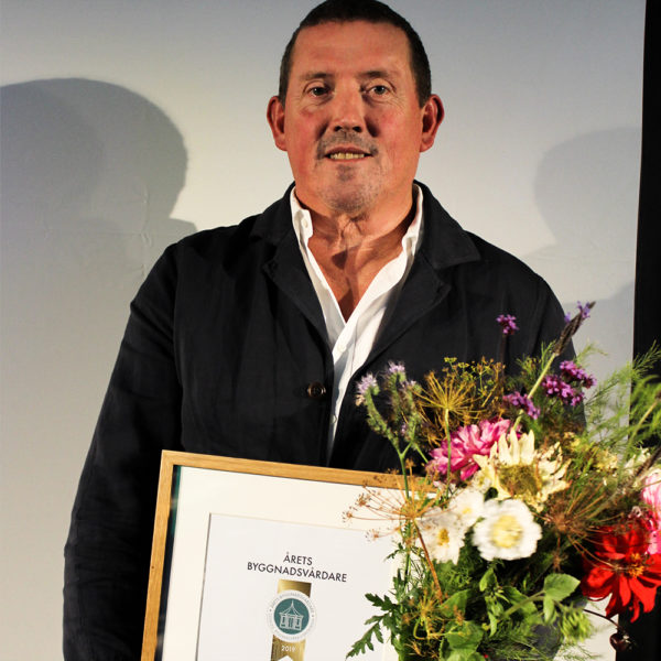 Årets byggnadsvårdare 2019 kategori försvara